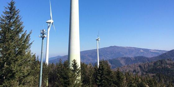 Windenergieanlagen, © Plattform EE BW