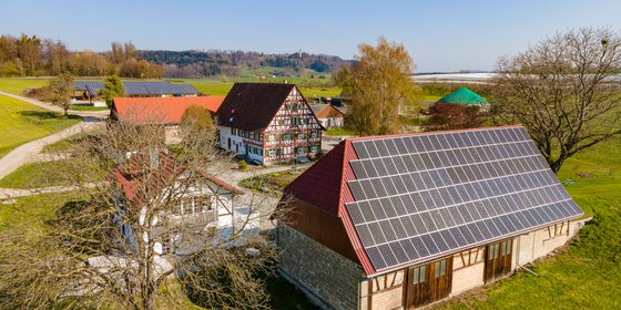 Biogasanlage in Überlingen, Baden-Württemberg