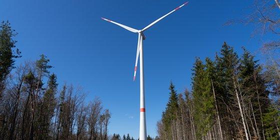 Windpark Verenafohren in Tengen, Baden-Württemberg