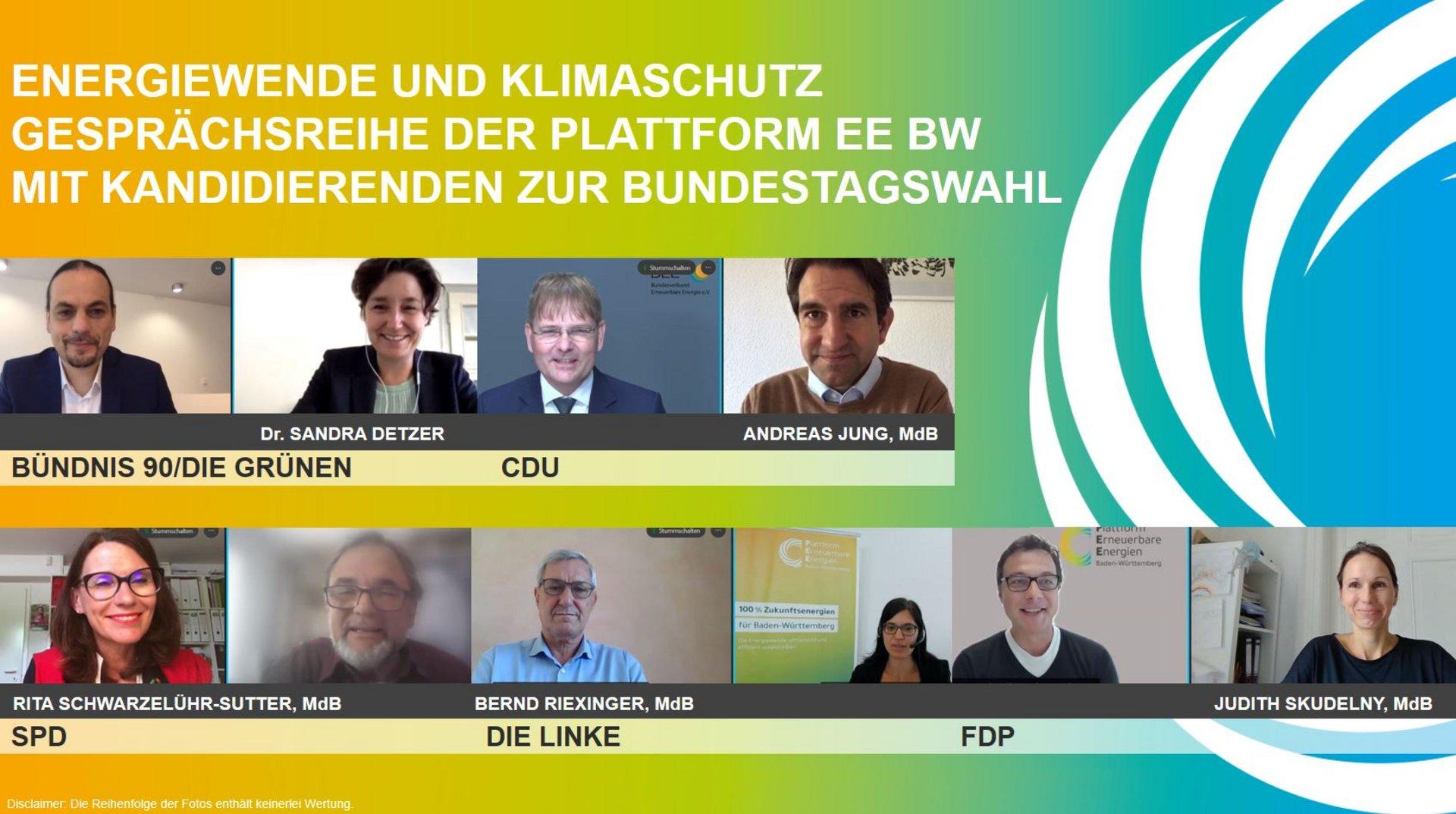 Gesprächsreihe mit Kandidatinnen zur Bundestagswahl 2021