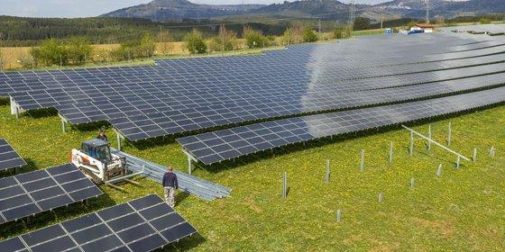 Foto: Solarpark Denkingen, © Plattform EE BW / Kuhnle & Knödler