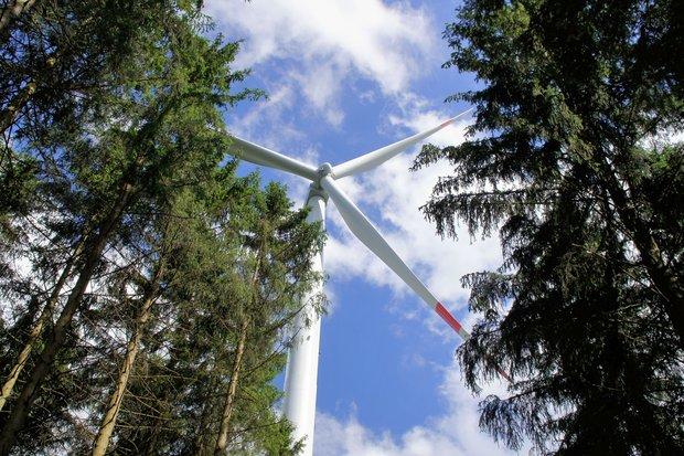 Foto: Windenergieanlage, © wpd onshore GmbH & Co. KG