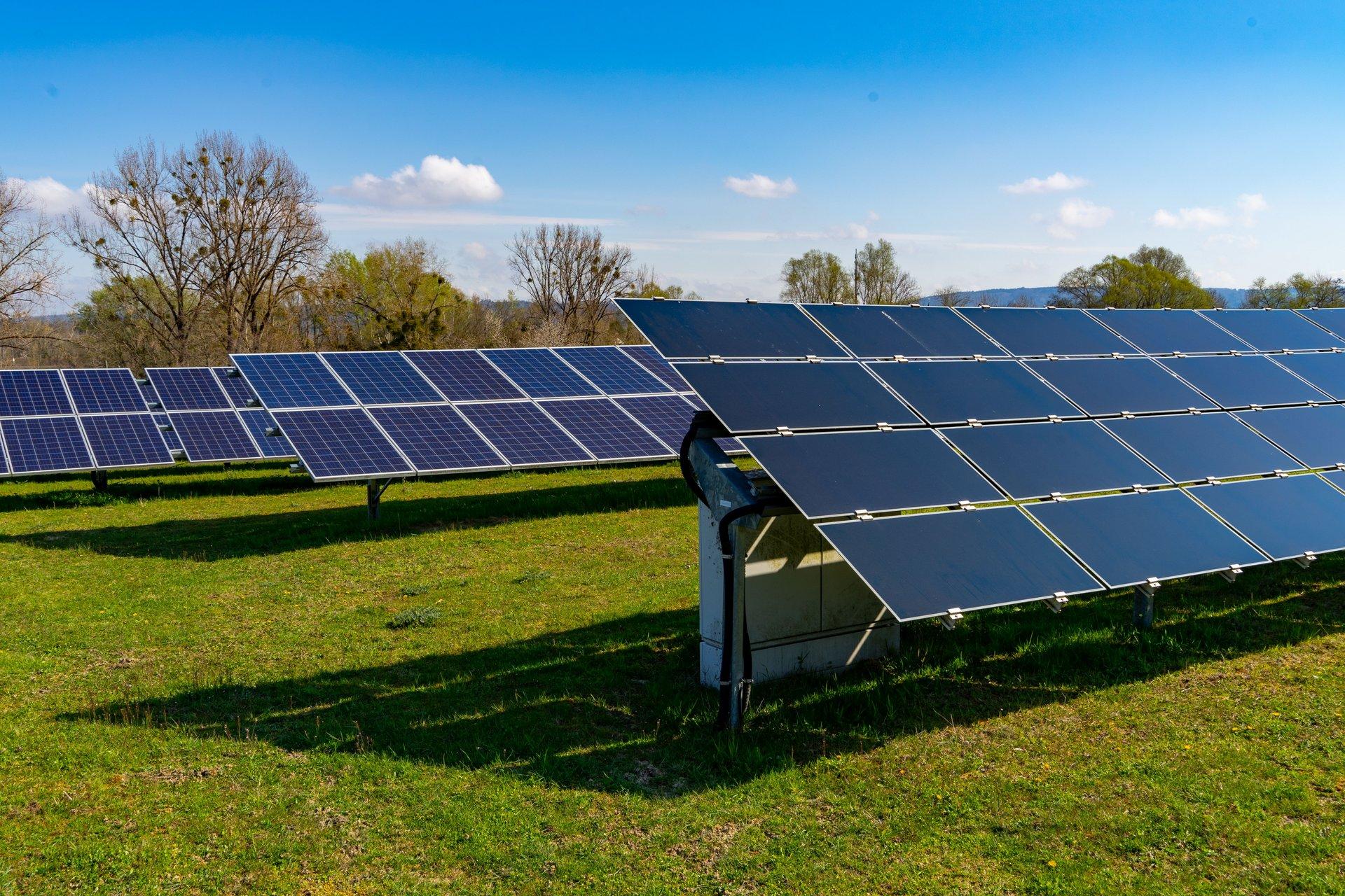 Foto: Solarpark Rickelshausen in Baden-Württemberg, © Plattform EE BW, A. Jung