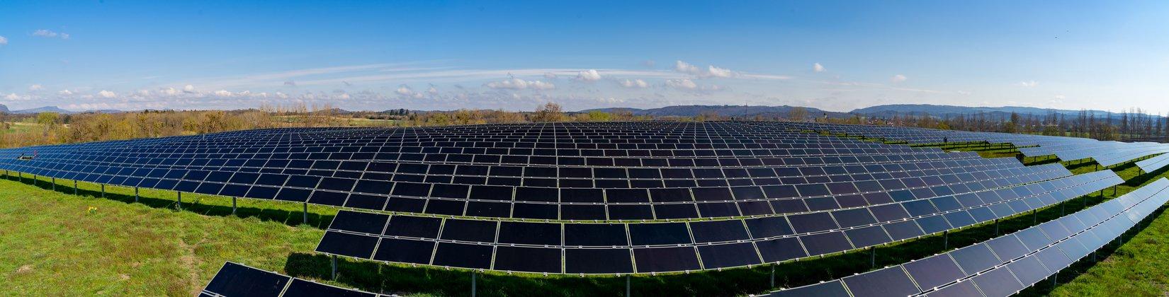 Solarpark Rickelshausen ©Plattform EE BW, A. Jung
